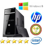 PC HP Pavilion p6-2304el Intel Dual Core G645 2.9GHz 4Gb 500Gb DVD�RW Windows 8 64bit