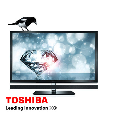 Offerta: TV 55 Pollici Toshiba REGZA 55ZL1G LED Edge Full HD 1080p 3D 800Hz Nero Smart WiFi NUOVO