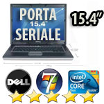 Notebook Dell Latitude D830 Core2Duo T7250 2.0GHz 2048Mb 120Gb 15.4W SERIALE COMBO +KIT Windows 7 Professional