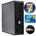 PC Dell Optiplex 755 Core 2 Duo E6550 2.33Ghz 2GB RAM 160Gb HD DVD�RW Windows 7 Professional