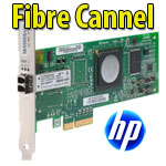 Scheda Host Bus Fibre Channel PCIe a una porta 4 GB HP FC1142SR LPE1150  QLE2460 - AE311A Server HP ML/ DL/ SL