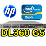 Server HP ProLiant DL360 G5 Xeon Dual Core E5120 1.86GHz 4M Cache 8Gb Ram 146Gb SAS (2) PSU Rack
