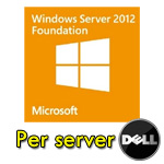 Windows Server 2012 Foundation per SERVER DELL Rok Kit