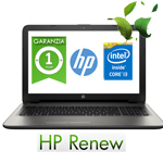 Notebook HP 15-ac158nl Core i3-5005U 4Gb 500Gb 15.6