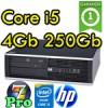 PC HP Compaq 8100 Elite Core i5-650 3.2GHz 4Gb Ram 250Gb DVD Windows 7 Professional 1Y