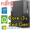 PC Fujitsu Esprimo E900 Core i3-2100 3.1GHz 4Gb 320Gb Card Reader noODD Windows 10 HOME 1Y