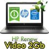 Notebook HP 15-ay032nl Core i5-6200U 4Gb 500Gb 15.6' HD BV LED AMD Radeon R5 M1-30 2GB Windows 10 1Y