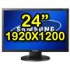 """Monitor PC LCD 24""""  Samsung SyncMaster 2443BW Wide MagicBright3 Risoluzione 1920 x 1200  PIVOT"""
