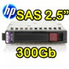 Hard Disk per Server HP SAS 2.5' 300Gb 10K Hot Swap per Proliant DL ML BL G5 G6 G7