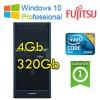 PC Fujitsu ESPRIMO P2560 Core2Duo E5500 2.8GHz 4Gb Ram 250Gb DVDRW Windows 10 Professional TOWER