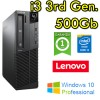 PC Lenovo ThinkCenter M92p DT Core i3-3220 2.8GHz 4Gb Ram 500Gb  Windows 10 Professional DESKTOP
