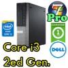 PC Dell Optiplex 790 SFF Core i3-2100 3.1GHz 4Gb 250Gb DVDRW Windows 7 Professional 1Y