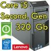 PC Lenovo ThinkCenter M91p Core i5-2400 3.1GHz 4Gb Ram 320Gb DVDRW Windows 10 Professional Tower 1Y