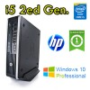 PC HP 8200 Elite USDT Core i5-2400S 2.5GHz 4Gb Ram 250Gb DVDRW Piccolo Leggero Windows 10 Professional
