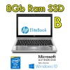 Notebook HP EliteBook 2570p Core i3-3110M 2.4GHz 8Gb 128Gb SSD 12.5' HD WEBCAM Windows 10 Pro. [Grade B]