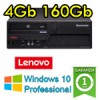 PC Lenovo ThinkCentre M58 Core 2 Duo E8400 3.0GHz 4Gb Ram 160Gb DVDRW Windows 10 Professional