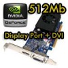 Scheda Video 512Mb MSI nVidia NVIDIA GeForce 310 DP 512MB DDR3 PCIe x16 P/N 572029-001