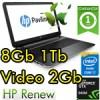 Notebook HP Pavilion 15-ab209nl Core i7-5500U 8Gb 1Tb 15.6' HD LED Nvidia 940M 2GB Windows 10 P1C10EA 1Y
