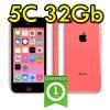 iPhone 5C 32GB Rosa 4G NF158LL/A Pink Originale iOS 10