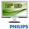 Monitor LCD LED 23 Pollici Philips Brilliance 235PL 1920x1080 VGA DVI Black Silver PIVOT