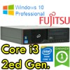 PC Fujitsu Esprimo E500 Core i3-2120 3.3GHZ 4Gb Ram 250Gb DVD Windows 10 Professional