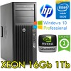 Workstation HP Z220 CMT Xeon  E3-1270 V2 3.4GHz 16Gb 1Tb NVIDIA QUADRO 2000 Windows 10 Professional