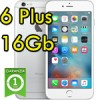iPhone 6 Plus 16Gb Argento A8 WiFi Bluetooth 4G Apple MGA92QL/A 5.5' Silver iOS 11