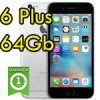 iPhone 6 Plus 64Gb Grigio Siderale A8 WiFi Bluetooth 4G Apple MGAH2QL/A 5.5' SpaceGray iOS 11