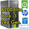 PC HP Compaq 8200 Elite Core i3-2120 3.3GHz 4Gb Ram 500Gb DVDRW Windows 10 Professional Tower