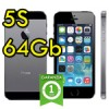 iPhone 5S 64Gb Grigio Siderale A7 WiFi Bluetooth 4G ME438IP/A Space Gray iOS 10
