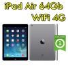 iPad Air 64Gb Grigio Siderale WiFi Cellular 4G 9.7' Retina Bluetooth Webcam SpaceGray MD793FD/A