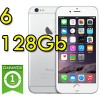 Apple iPhone 6 128Gb White Silver MG4C2ZD/A Argento 4.7' Originale iOS 11