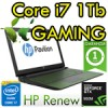 Notebook HP Pavilion Gaming 15-ak112nl Core i7-6700HQ 8Gb 1Tb 15.6' HD Nvidia GeForce 950M 4GB Windows 10 HOME