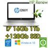 Notebook HP ENVY 15-as003nl Core i7-6500 16Gb Ram 1Tb + 128Gb SSD 15.6' FHD Windows 10 HOME