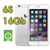 iPhone 6S 16Gb Silver MG4F2QL/A Argento 4G Wifi Bluetooth 4.7' 12MP Originale iOS 10