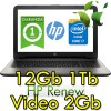 Notebook HP 15-ay034nl Core i7-6500U 12Gb 1Tb 15.6' HD BV LED AMD Radeon R7 M440 2GB Windows 10 HOME