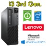PC Lenovo ThinkCenter M82p Core i3-3220 3.3GHz 4Gb Ram 500Gb Windows 10 Professional SFF