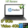 Notebook HP Pavilion 15-au005nl i7-6500U 8Gb 1Tb 15.6' HD LED GeForce 940MX 4GB Windows 10 HOME