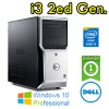 Workstation Dell Precision T1650 Core i3-3220 3.3GHz 8Gb 500Gb DVDRW AMD FIREPRO 2270 Windows 10 Professional