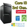 PC Lenovo ThinkCenter M92 MT Core i3-3220 3.3GHz 4Gb Ram 500Gb Windows 10 Professional Tower