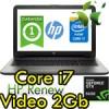 Notebook HP 15-ay038nl Core i7-6500U 4Gb 1Tb 15.6' HD BV LED AMD Radeon R7 M1 2GB Windows 10 HOME