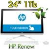 PC HP All in One 24-g013nl AiO AMD A8-7410 8Gb 1Tb 23.8' FHD UWVA LED Windows 10 HOME