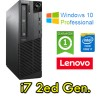 PC Lenovo ThinkCenter M91p Core i7-2600 3.3GHz 4Gb Ram 500Gb DVDRW Windows 10 Professional SFF
