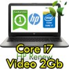 Notebook HP 15-ac194nl i7-5500U 2.4GHz 8Gb 500Gb 15.6' HD AMD R5 M330 2GB DVDRW Windows 10 HOME