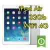 iPad Air 2 32Gb Bianco WiFi Cellular 4G 9.7' Retina Bluetooth Webcam (Seconda Generazione) MD795TY/A