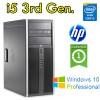 PC HP Compaq 6300 Elite Core i5-3470 3.2GHz 4Gb Ram 500Gb DVD Windows 10 Professional Tower