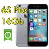 iPhone 6S Plus 16Gb SpaceGray A9 MKU12ZD/A Grigio Siderale 4G Wifi Bluetooth 5.5' 12MP Originale iOS 11