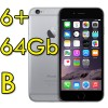 iPhone 6 Plus 64Gb Grigio Siderale A8 WiFi Bluetooth 4G Apple MGAH2QL/A 5.5' SpaceGray iOS 11 [GRADE B]