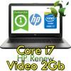 Notebook HP 15-ay135nl Core i7-7500U 12Gb 1Tb 15.6' FHD AMD R7 M440 Graphics 2GB Windows 10 HOME