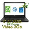 Notebook HP 15-bs008nl Core i7-7500U 8Gb 512SSD 15.6' FHD AMD Radeon 530 2GB Windows 10 HOME